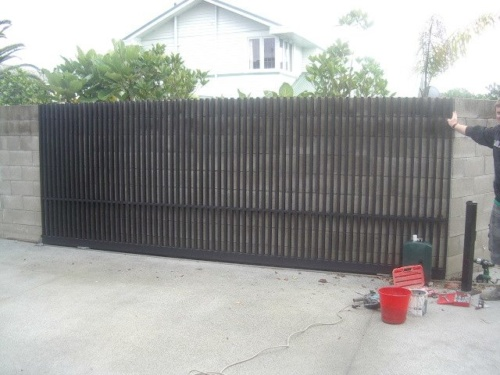 Mild Steel sliding gate