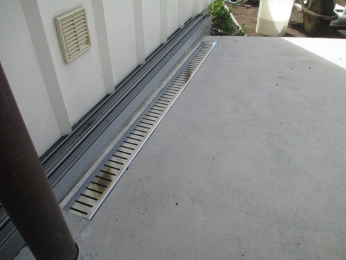 Electro Polished Stainless Steel Overflow Grate