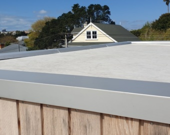 Zincalume Roof Parapet Flashings