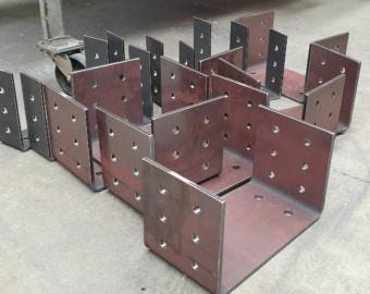Steel Folded Base Plates